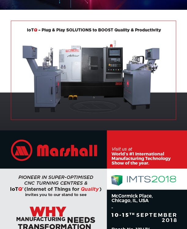 Marshall Machines | Transformation Needs